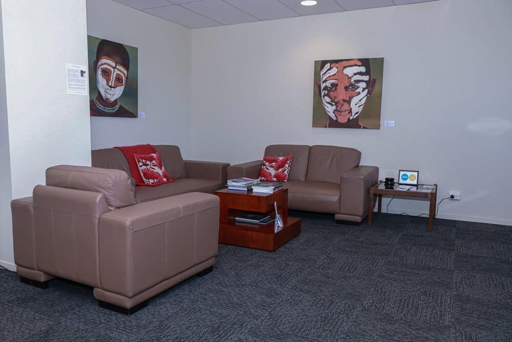 Waiting Room At Wallace Diack Chartered Accountants Ltd In Marlborough NZ
