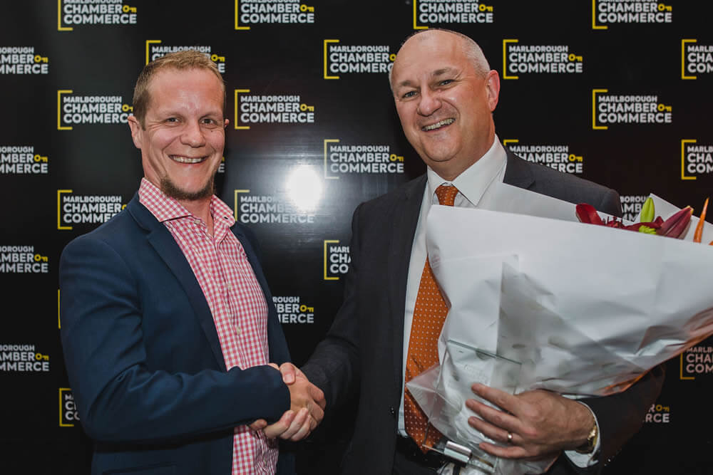MCOC Business Person Of The Year 2019 Award To Tony De Reeper Of Wallace Diack